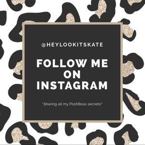 Follow me on INSTAGRAM 📲